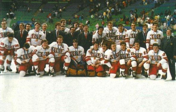 Сборная Р по хоккею (1988)